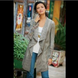 Soft Surroundings Cadence Duster Open Cardigan